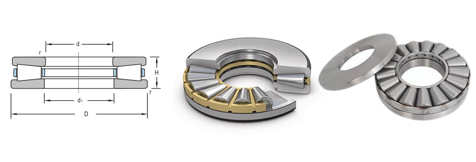 single direction tapered roller thrust bearings - FV ROLLING BEARINGS